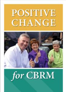 Cecil Clarke's campaign flyer