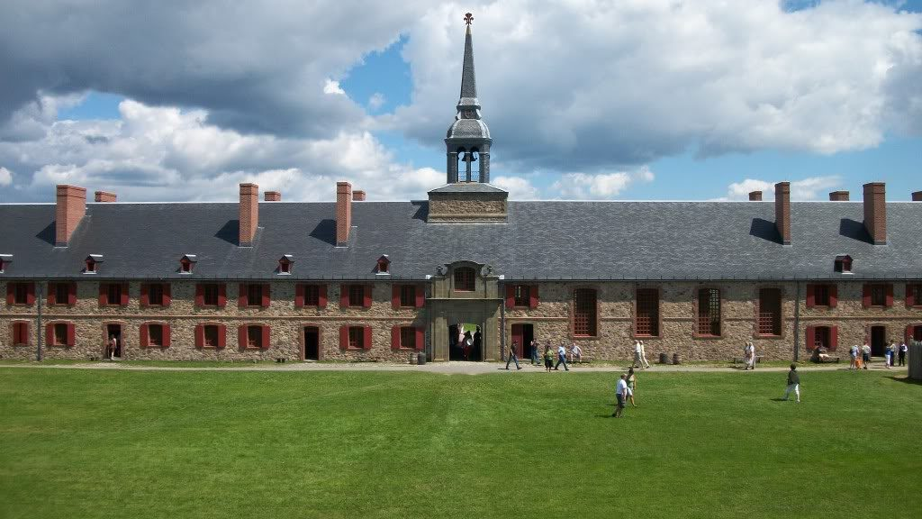 History: Fortress of Louisbourg