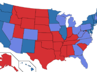 US Election 2016: Red, Blue, Purple