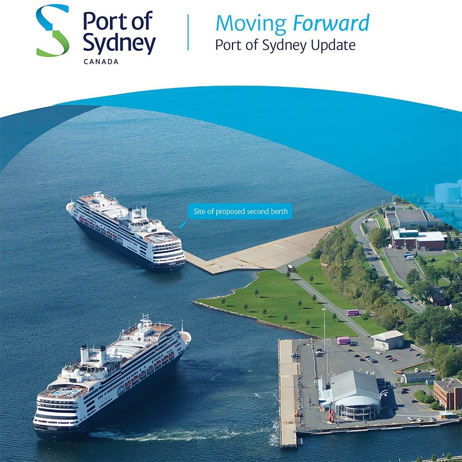 Port of Sydney N.S. update brochure