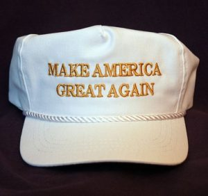 "Trump hat, ""Make America Great Again"""