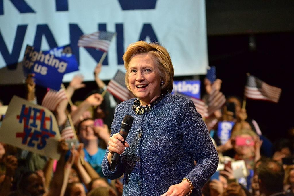 Hillary Clinton, Philadelphia rally