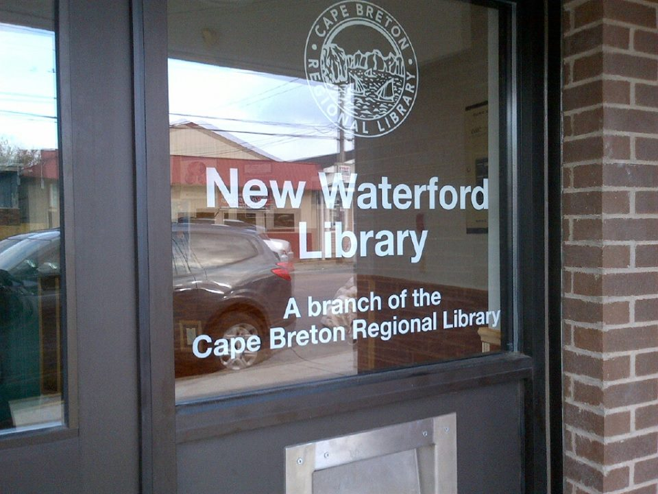 Door of the New Waterford Library