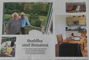Muise and Nordman in Süddeutsche Zeitung (South German Daily), May 2015