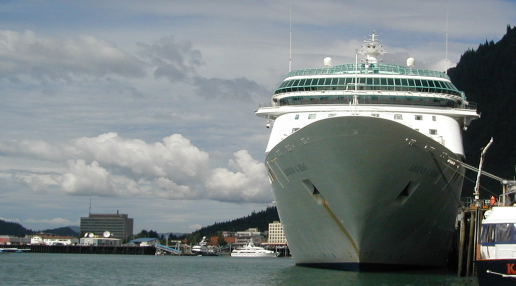 Cruise ship, Juneau, Alaska