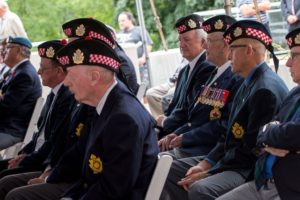 Cape Breton veterans at the announcement of the reopening of the Sydney VAO. (Photo courtesy Veterans Affairs Canada)