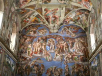 Sistine Chapel. (Photo by By Alex Proimos from Sydney, Australia (The Sistine Chapel) [CC BY 2.0 (http://creativecommons.org/licenses/by/2.0)], via Wikimedia Commons