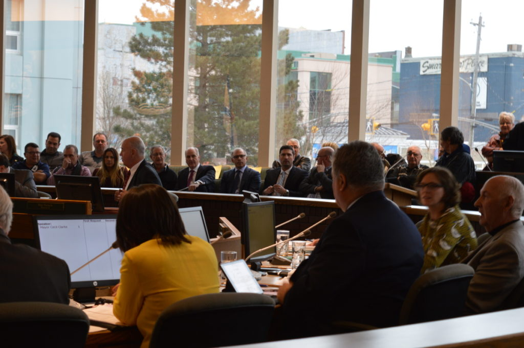 CBRM Council debates extending HPDP (or SHIP) exclusivity contract, 19 December 2016.