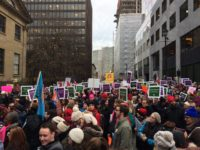 Protests in support of teachers at Nova Scotia's Province House (Photo via Twitter)