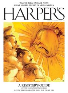 Harper's Magazine, February 2017 via http://harpers.org/
