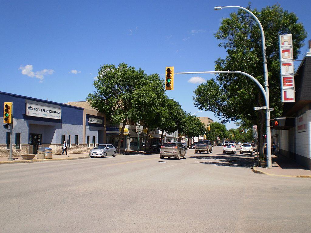 Main Street, Dauphin, Manitoba, 2016