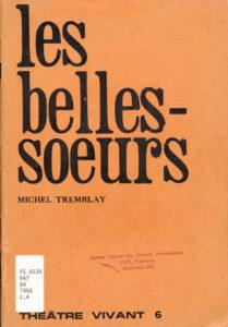 Cover of Les Belles Soeurs