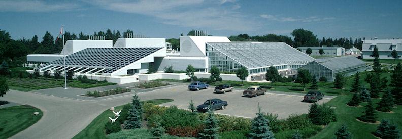 Morden Research and Development Centre, Morden, Manitoba (Photo via Agriculture Canada)