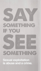 Say Something if You See Something brochure, Halifax RCMP