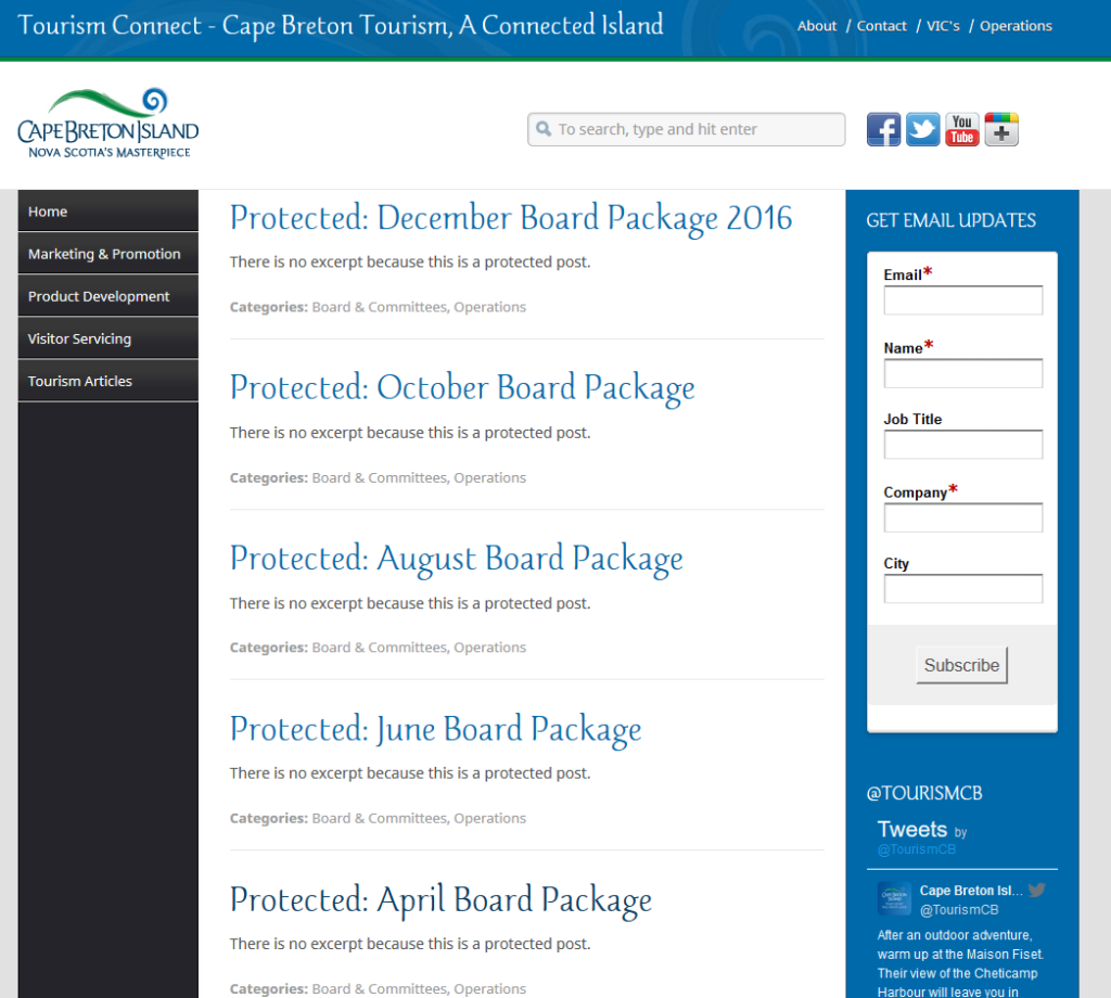 """DCBA board """"packages"""" -- for somebody's eyes only."""