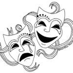 "Comedy and Tragedy masks (<a href=""http://cliparts.co/clipart/3565830"">Image source: Cliparts.co</a>)"