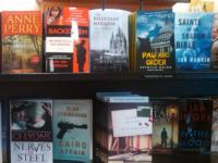 New Mystery section, Barnes & Noble via Pinterest (https://www.pinterest.com/pin/328129522828199985/)