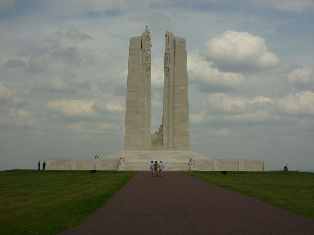 vimy ridge victory or vortex the cape breton spectator canadian national vimy memorial photo by lisa white own work cc by sa 3 0 via