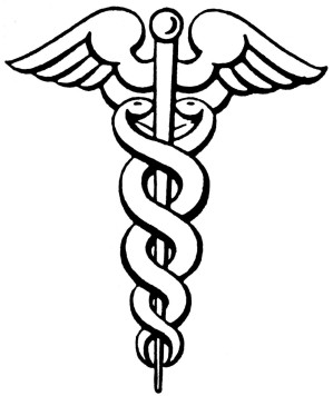 Caduceus By Rama (Own work) [Public domain], via Wikimedia Commons