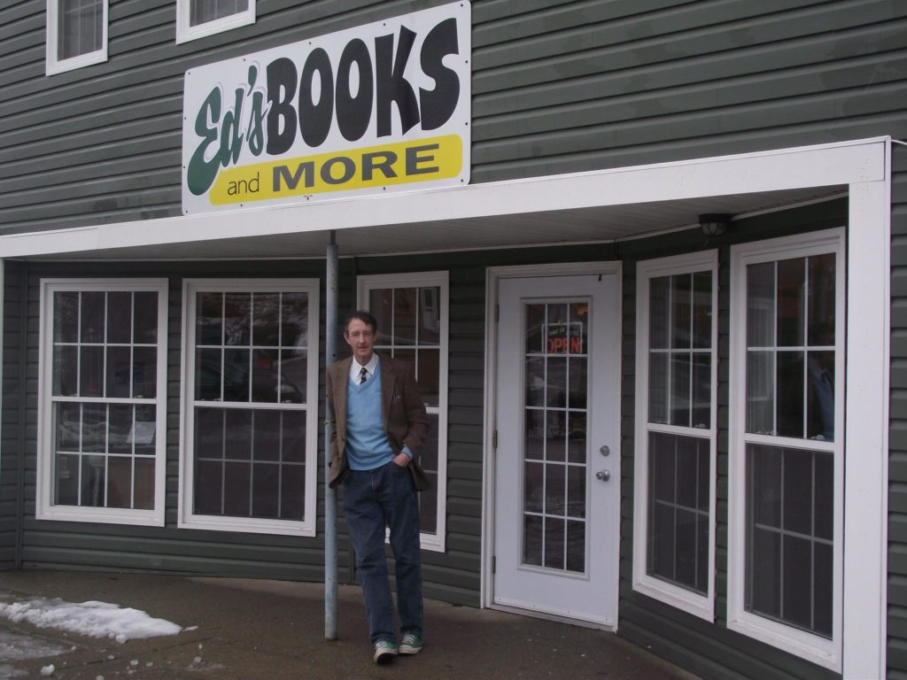 Ed Gillis of Ed's Books & More, Sydney, NS. (Photo via Facebook)