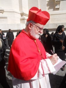 Cardinal Sean O'Malley (By Pufui Pc Pifpef I (Own work) [CC BY-SA 3.0 (http://creativecommons.org/licenses/by-sa/3.0)], via Wikimedia Commons)