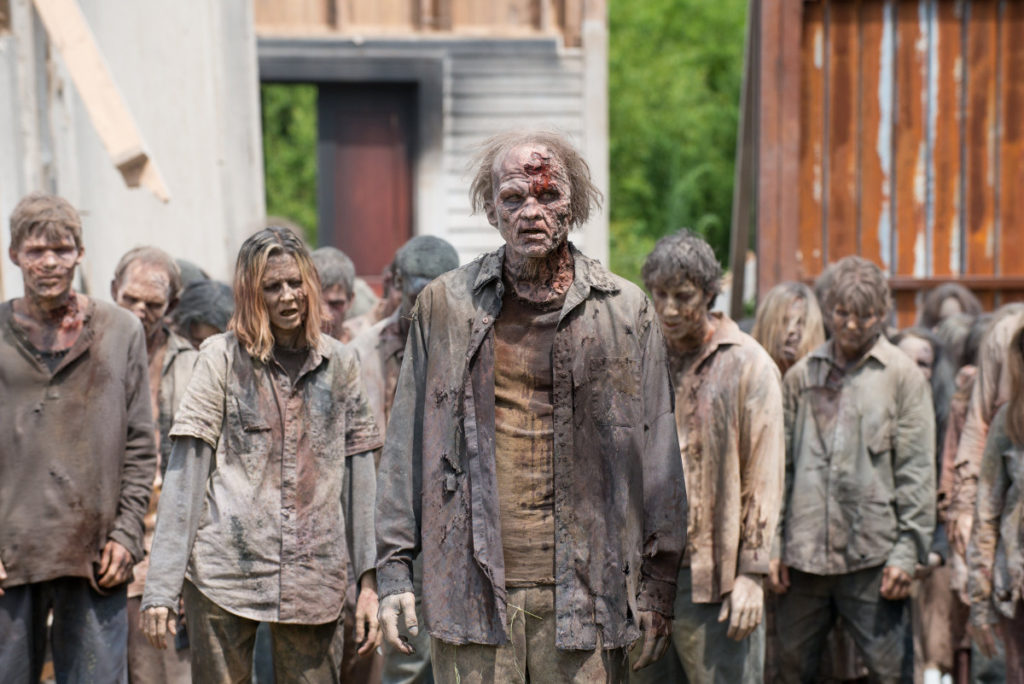 Zombies, The Walking Dead (Gene Page/AMC)