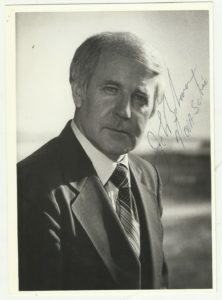 Autographed photo of John Buchanan. (Source: eBay)