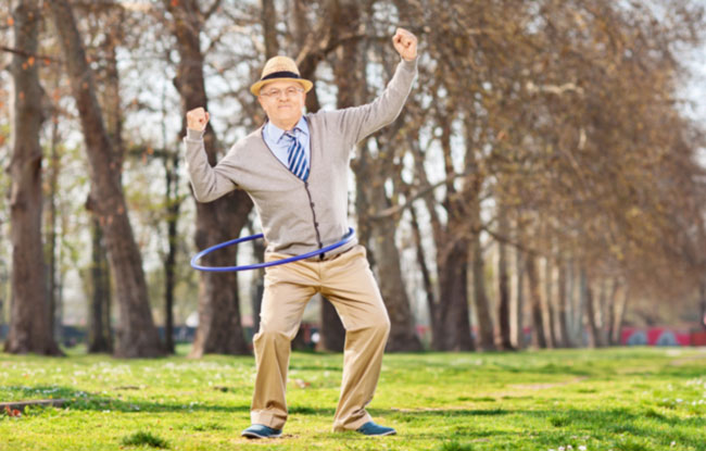 "This photo is part of a funny ""Senior Planet"" feature on how to be an ""active senior"" according to Stock Photography. https://seniorplanet.org/17-ways-to-be-an-active-senior-according-to-stock-photography/"