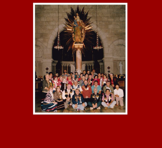 At Ste. Anne de Beaupré, Mi'kmaq Pilgrims Honor an Elder