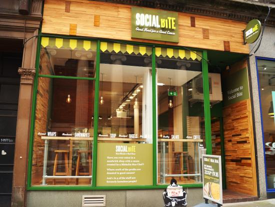 Social Bite, Glasgow. (Photo by Leogoable via Trip Advisor https://www.tripadvisor.ca/Restaurant_Review-g186534-d6753006-Reviews-Social_Bite-Glasgow_Scotland.html#photos;geo=186534&detail=6753006)