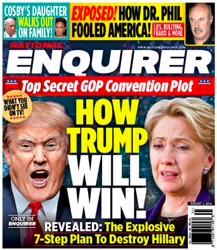 The National Enquirer ...