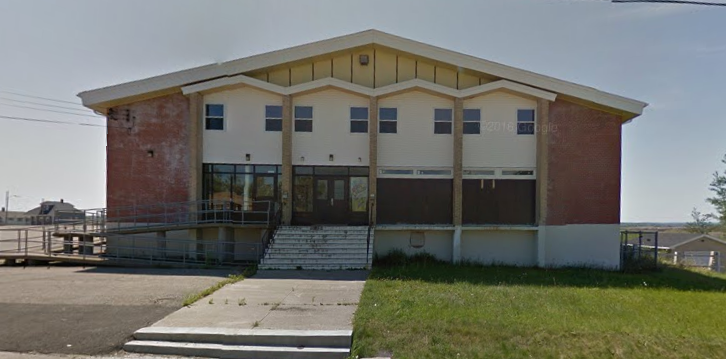 """The Gym."" The former Holy Redeemer Parish Ctre is now a mosque. (Photo via Google Street View)"
