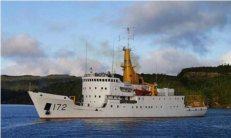 Canadian Forces Auxiliary Vessel Quest