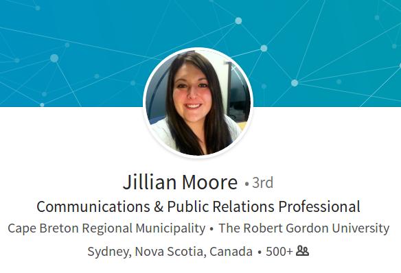 Jillian Moore, LinkedIn