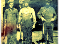 Miners at Dominion #6 Colliery, Cape Breton, 1920. (Source: Beaton Institute https://beatoninstitute.com/dominion-13)