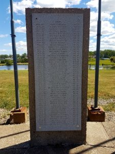 New Waterford monument to victims of 1917 explosion in No. 12 Colliery. (CBC Photo/Olivia Adlakha http://www.cbc.ca/news/canada/nova-scotia/cape-breton-coal-mine-no-12-colliery-explosion-blast-100-1.4219248)