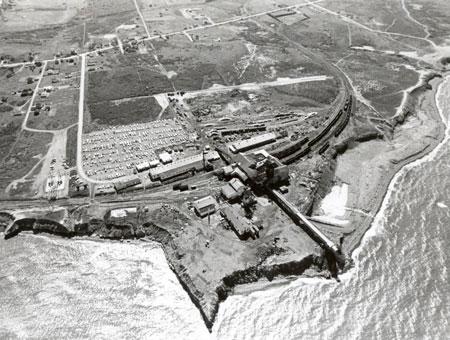 Devco No. 26 Colliery, Glace Bay, 1977. (Photo by Owen Fitzgerald via Beaton Institute https://beatoninstitute.com/)