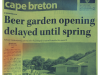 BCB Director's Beer Garden Won't Open This Season