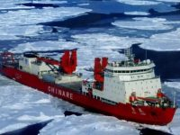 The icebreaker Snow Dragon was the first Chinese vessel to sail the Northern Sea Route. (Photo: Sinoshipnews.com)