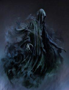 Dementor (Image via Harry Potter Wiki http://harrypotter.wikia.com/wiki/Dementor)