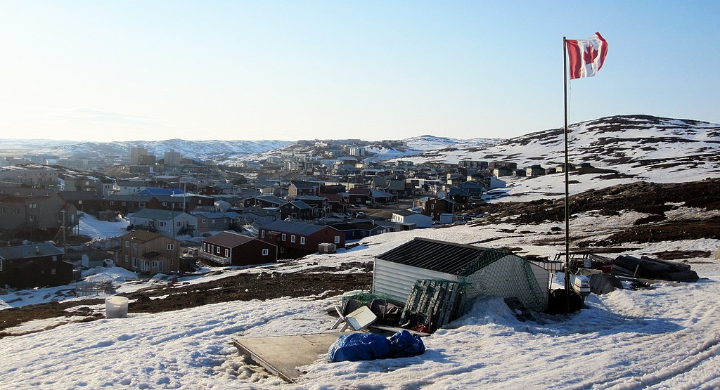 Iqaluit. (Photo by Aaron M Lloyd, Public Domain, via Wikimedia Commons)