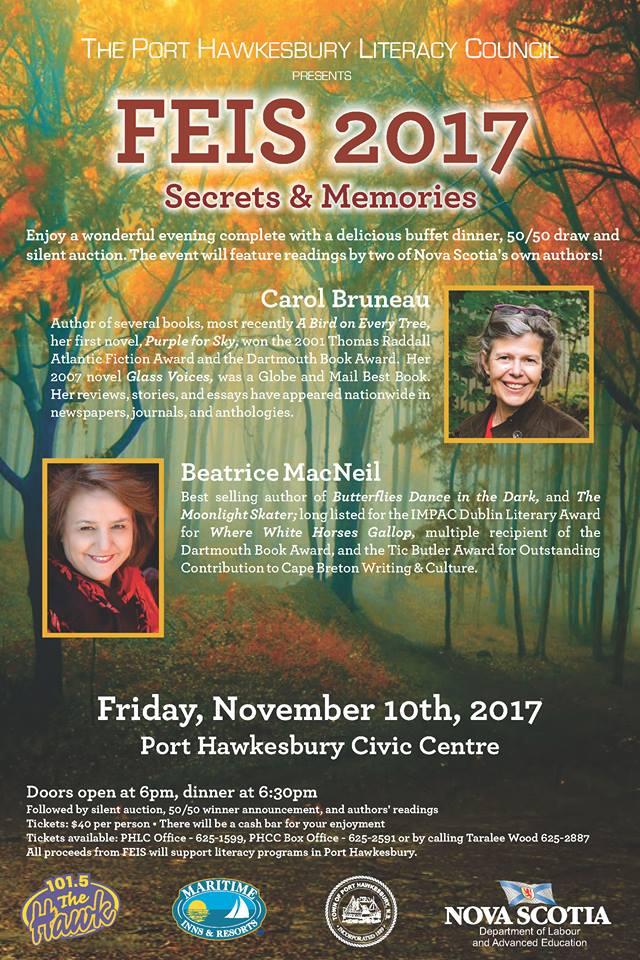 Port Hawkesbury Civic Centre: Feis Literacy Fundraiser ...