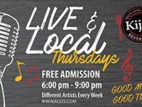 Kiju's: Live and Local Thursdays