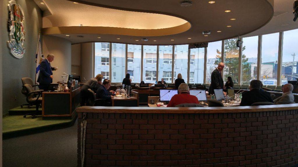 CBRM Council, 22 November 2017. (Spectator photo)