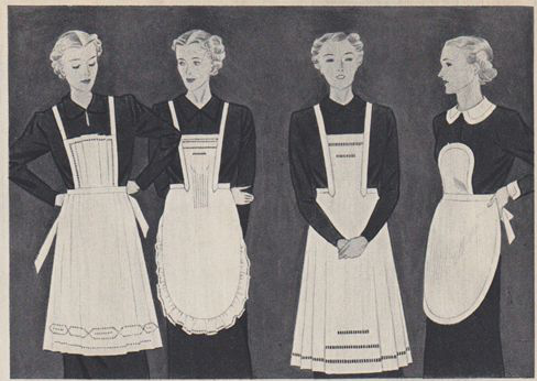 1930s maids' uniforms