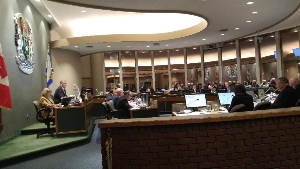 CBRM regular council meeting, 12 December 2017