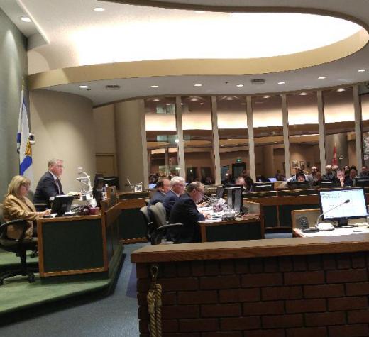 CBRM council, 12 December 2017.