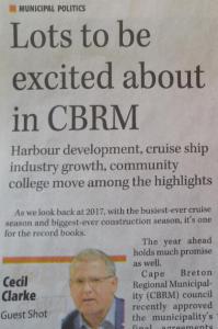 CB Post, 30 December 2017