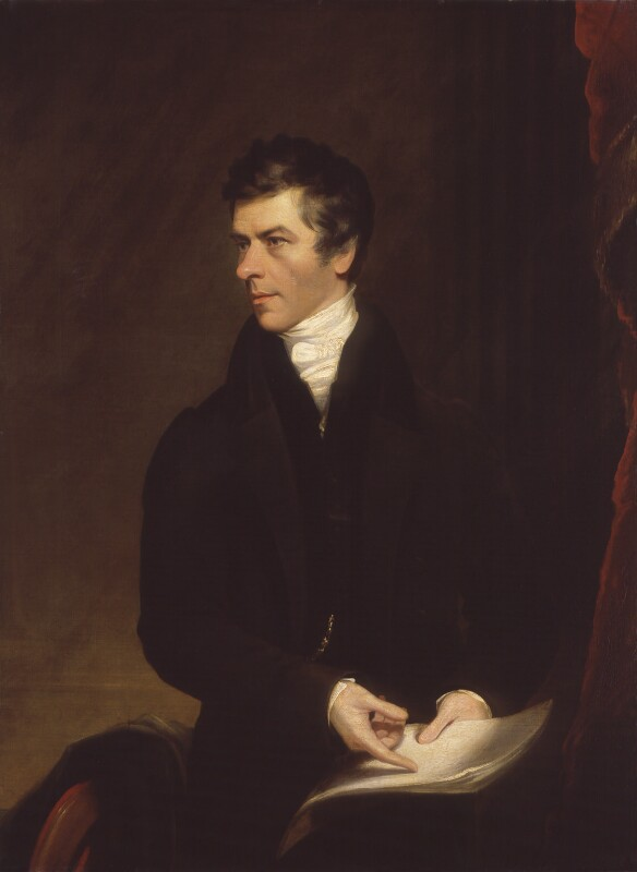 Henry Brougham, 1st Baron Brougham and Vaux. Replica by James Lonsdale, oil on canvas, 1821) https://www.npg.org.uk/collections/search/portraitLarge/mw00824/Henry-Brougham-1st-Baron-Brougham-and-Vaux?LinkID=mp00583&search=sas&sText=Henry+Brougham&role=sit&rNo=2