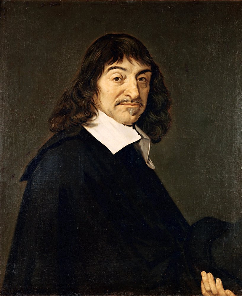 After Frans Hals Portrait of René Descartes, 1596-1650, Public Domain via Wikimedia Commons.